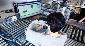 Schukat electronic, goods-to-person; optimized processes, ergonomic