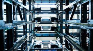 Schukat electronic Schukat electronic, shuttle system, automatic storage system, OSR Shuttle™ Evo, logistics processes