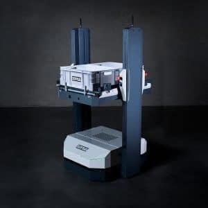 AGV; autonomous mobile robots, Open Shuttle; containers, AMR