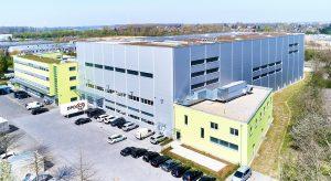 Schukat electronic Headquarters, logistics centre, distribution processes, OSR Shuttle™ Evo