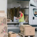 Jeden Tag verlassen bis zu 150.000 Stück das Distributionszentrum von Mall.cz in der Nähe von Prag.