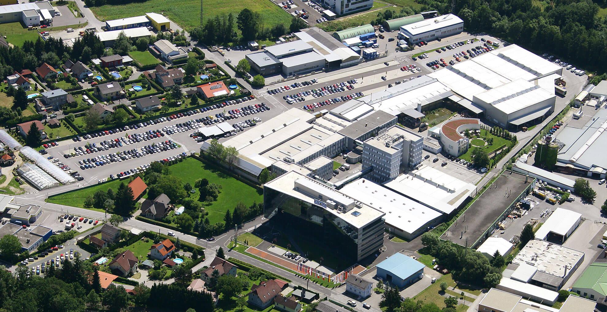 2011 Luftaufnahme KNAPP AG