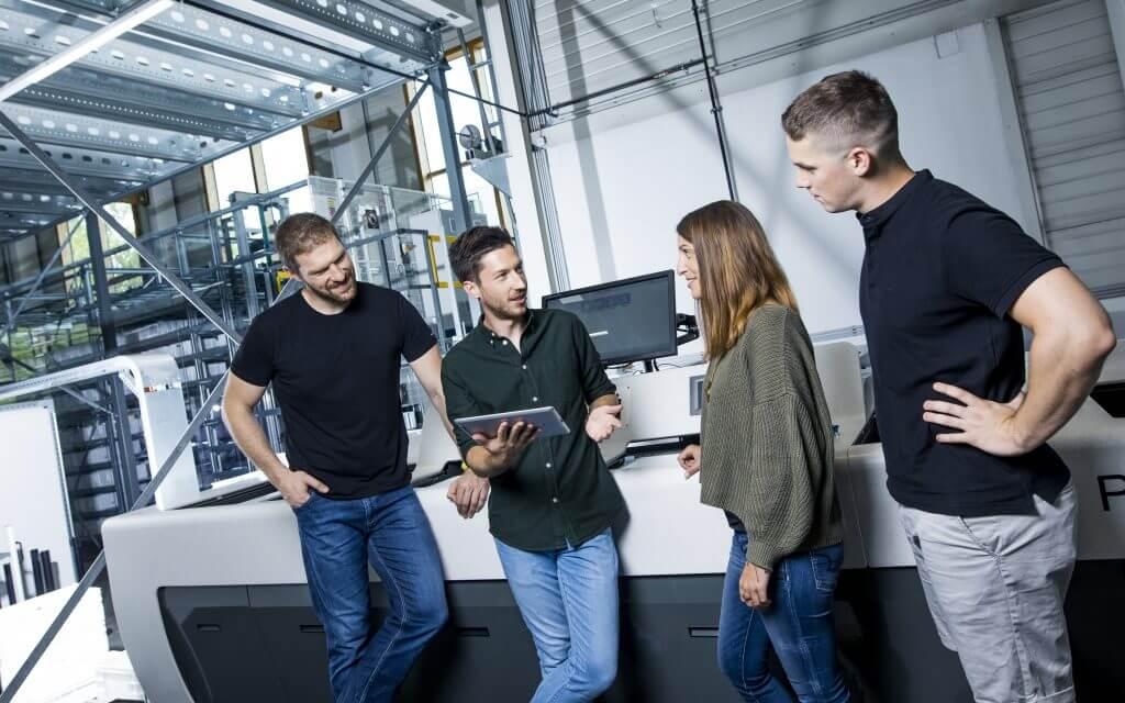 Intelligente Technologien, Branchen-Erfahrung und Leidenschaft für Logistik
