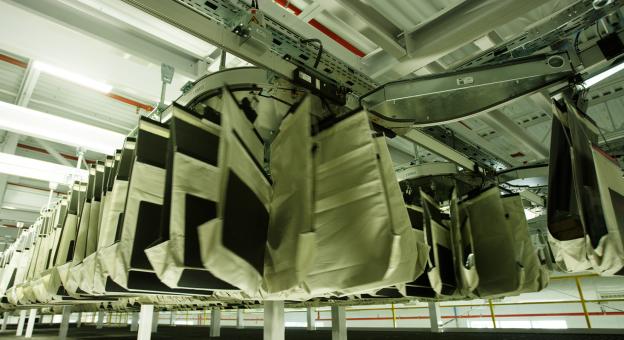 Ein Taschensorter-System für die effiziente Bearbeitung und Sequenzierung