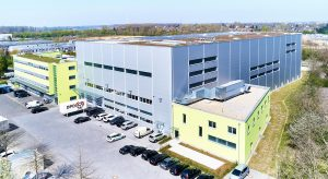Schukat electronic Headquarter, Distribution, Logistik-Prozesse, Logistikzentrum, OSR Shuttle™ Evo