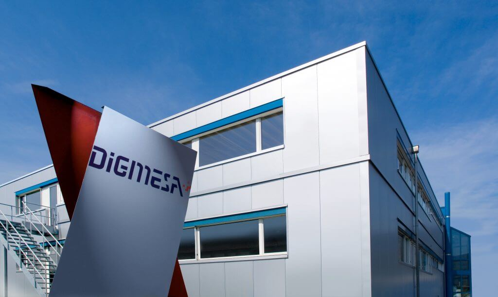 Edificio de la empresa de Digmesa en la sede de Ipsach en Suiza.