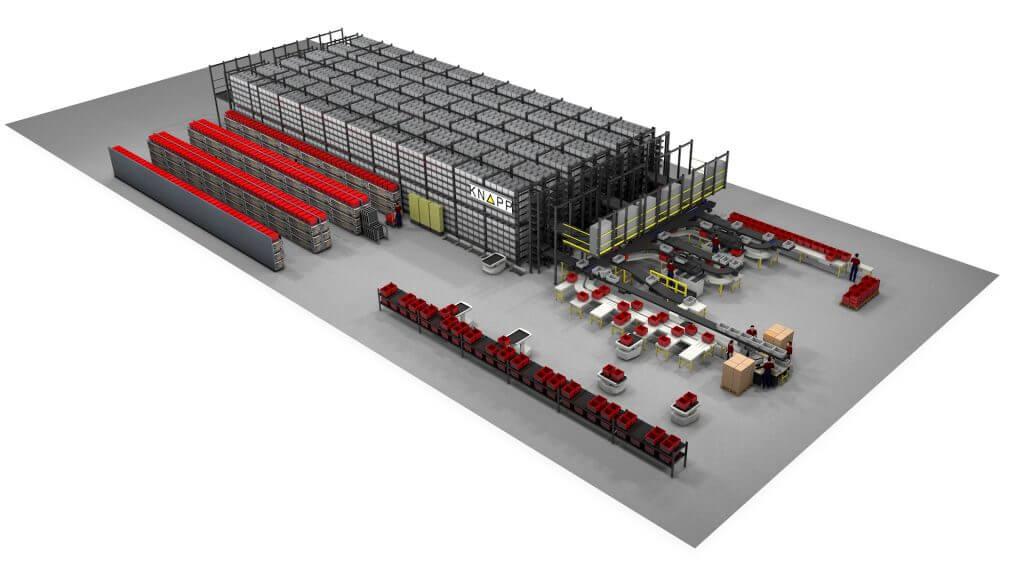 Micro Fulfillment Center (MFC)