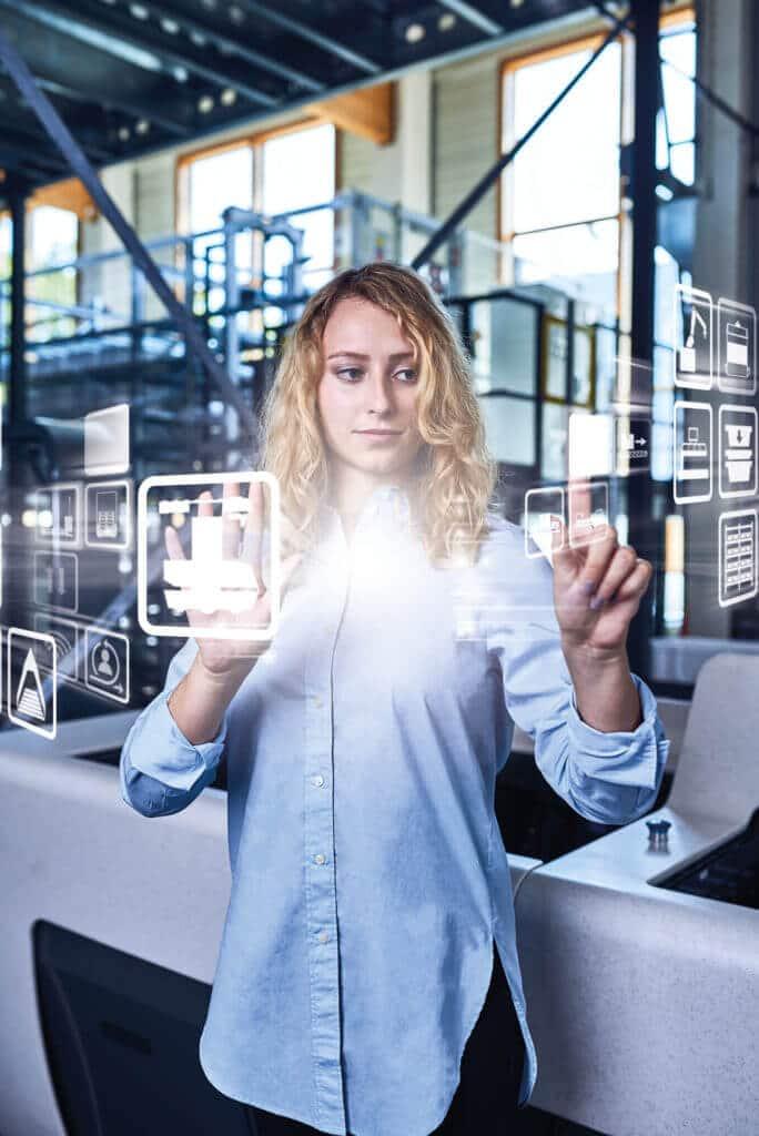 Mensch-Maschine-Kommunikation; Smart Worker; Arbeit der Zukunft; intelligente Daten; Logistik; Produktion;