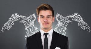 Mensch und Roboter starkes Team für Logistik und Produktion
