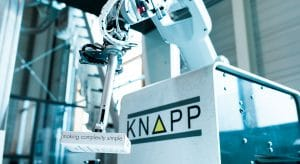KNAPP Pick-it-Easy Robot