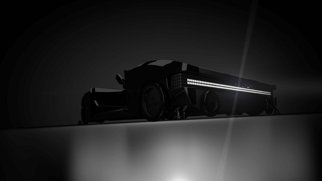 OSR Shuttle Evo Rendering schwarz