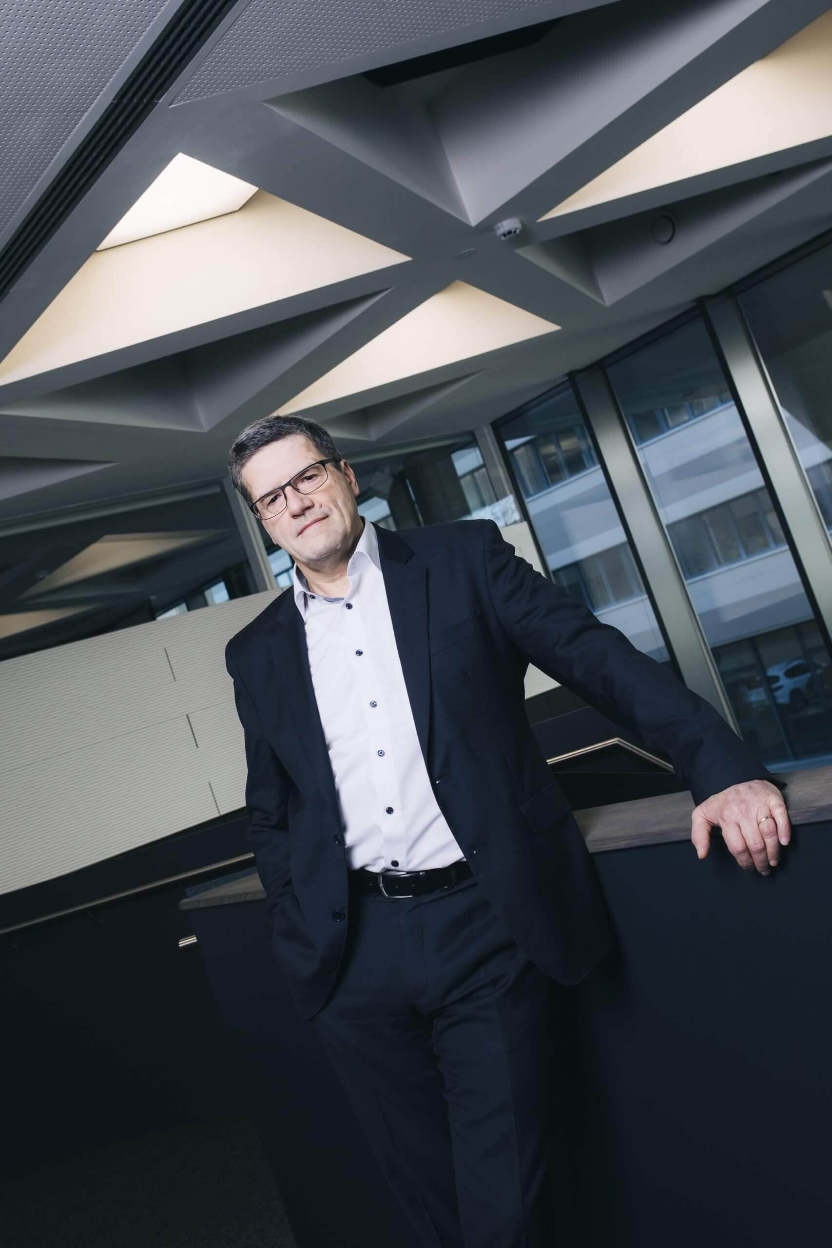 Sigurd Völker, Geschäftsführer Dürkopp Fördertechnik