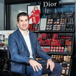 Portrait von Olivier Sorbe, EMEA Physical Logistic Manager bei Parfums Christian Dior