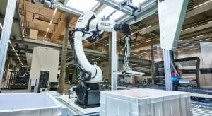 Pick-it-Easy-Robot; picking robot; AI in logistics; intralogistics, single pick; Artificial intelligence in logistics