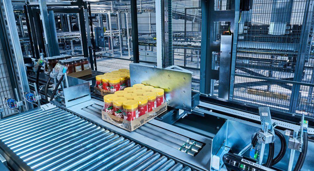 RUNPICK - Vollautomatisches Full Case Picking im Lebensmittelhandel
