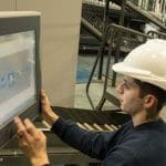 Touch screens make operating the autopickers straightforward