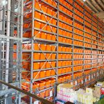 The OSR Shuttle™ provides 13,900 storage locations in five aisles.