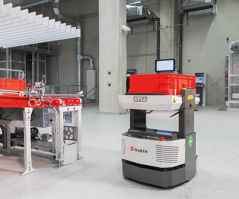 KNAPP Retail Solution Würth