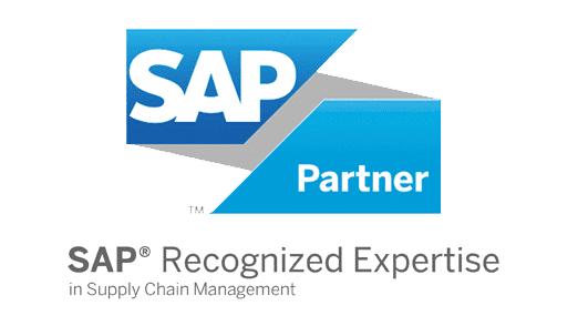 Grafik: Zertifizierter SAP® Partner in Suppy Chain Management