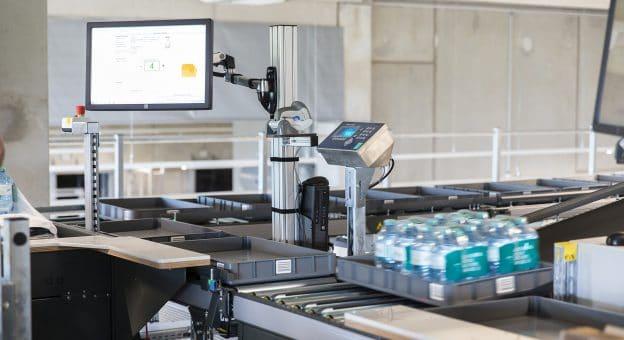 Durch die visuellen Hilfestellungen bei der Auftragszusammenstellung lässt sich der Durchsatz schnell erhöhen.