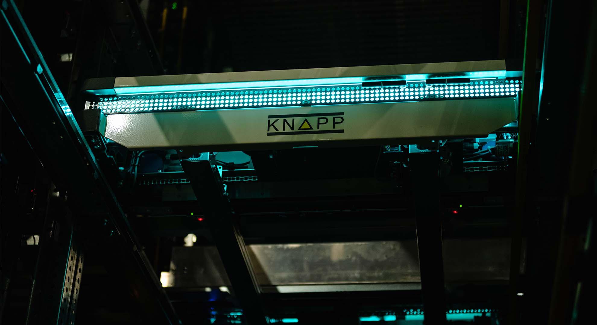 Schukat electronic automated storage system OSR Shuttle Evo