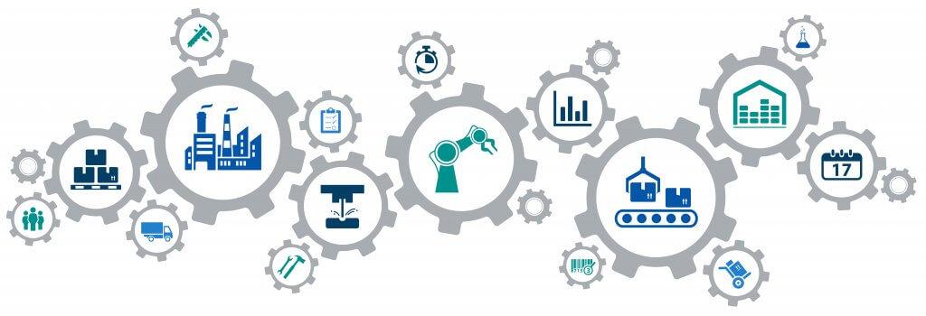 Todos los elementos de una cadena de suministro interactúan entre ellos y permiten un suministro de producción con optimización de tiempo.