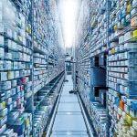 Der KNAPP-Store ermöglicht eine niedrige Stellplatzkosten und eine optimale Lagerdichte.