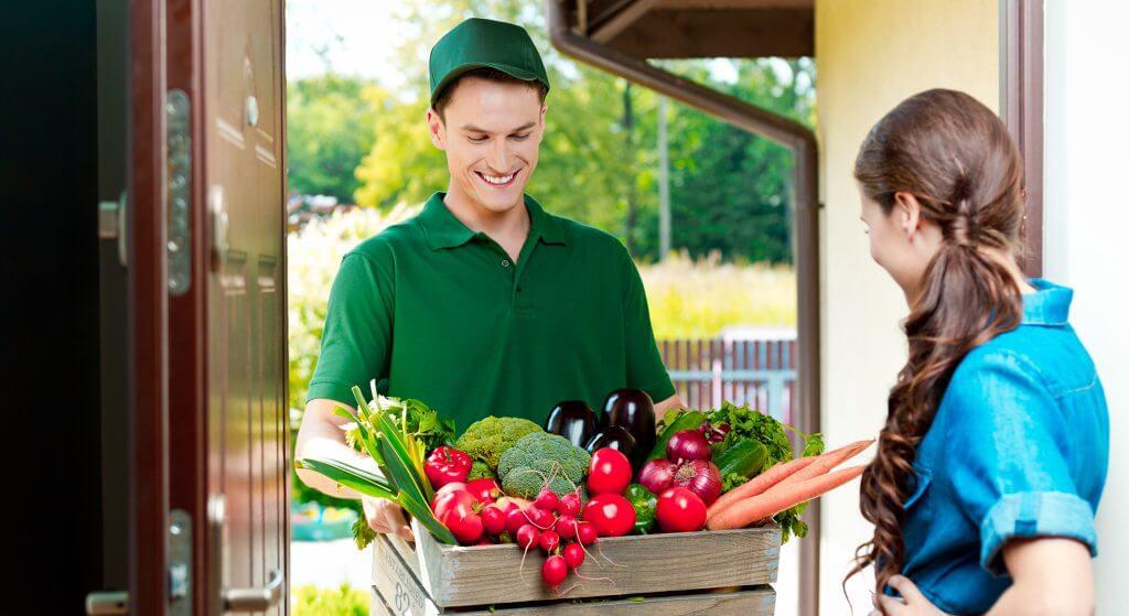 Online Food Retail, Food, Lebensmittelhandel, Zustellung, Home Delivery