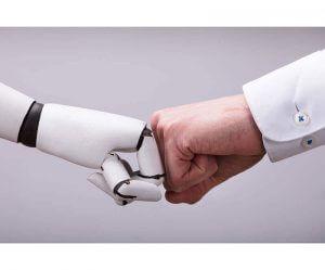 Mensch und Roboter - Faust